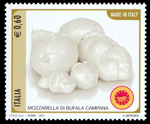 Mozzarella di bufala campana - Italie - 2011