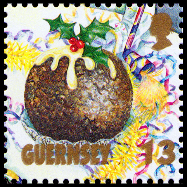 Christmas Pudding - Guernesey - 1992